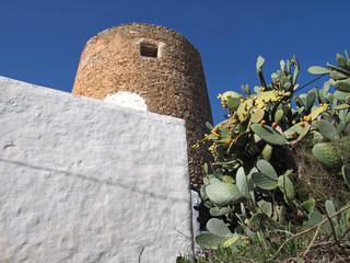 typisches Haus auf Ibiza