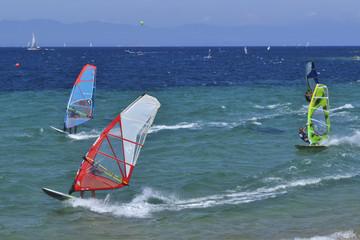 Windsurf, Baia dei Gabbiani, Sardegna