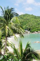Top view beach Thongtakian, Koh Samui, Thailand
