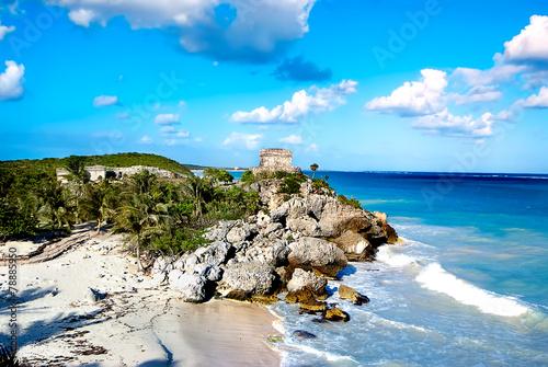 Aluminium Rudnes Mayan ruins of Tulum Mexico