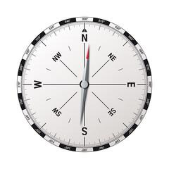 Moderner Kompass Vektor