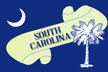 South Carolina Scroll