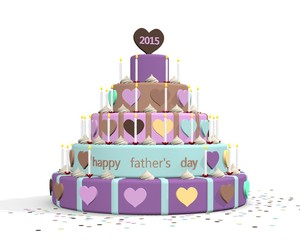 Happy father's day 2015 cake