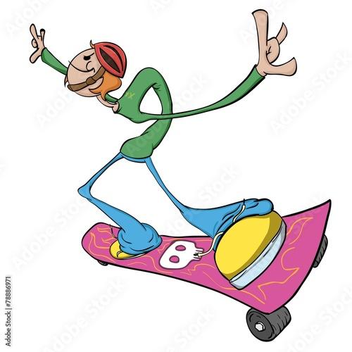 Obraz Skater Dude