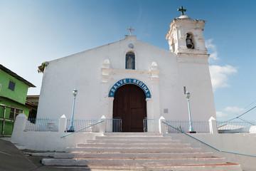 Hispanic catholic church in Isla Taboga Panama City