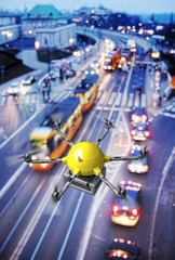 drone night delivery