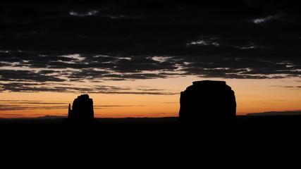 Monument Valley Mesa Sunrise Time Lapse
