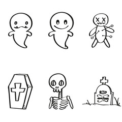 Halloween - Set of icons for your trick or treat.