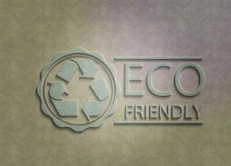 ECO friendly -Logo