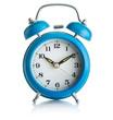 Blue alarmclock - 78888544