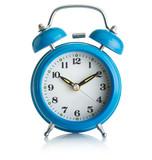 Blue alarmclock