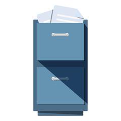 Icono archivador metalico