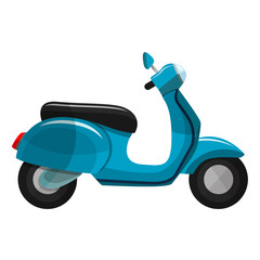 Icono scooter vista lateral