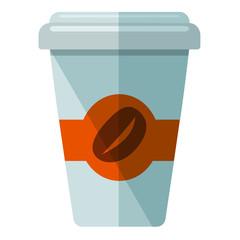 Icono vaso de cafe