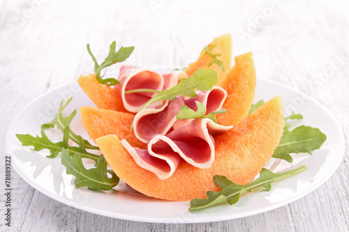 Fototapeta melon salad