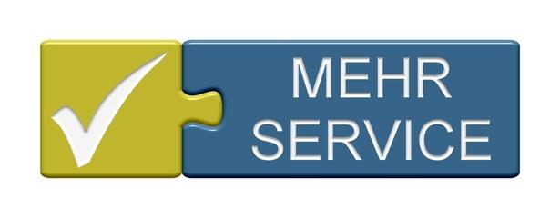 Puzzle Button: Mehr Service