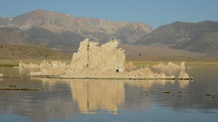 Tufa Formation on Scenic Mono Lake California