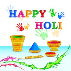 Holi celebration background