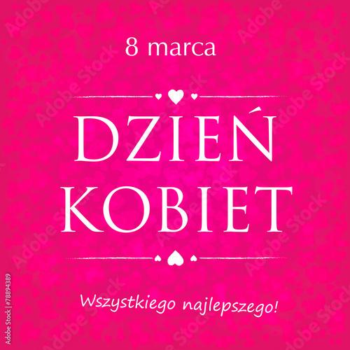 Dzień Kobiet, 8 marca