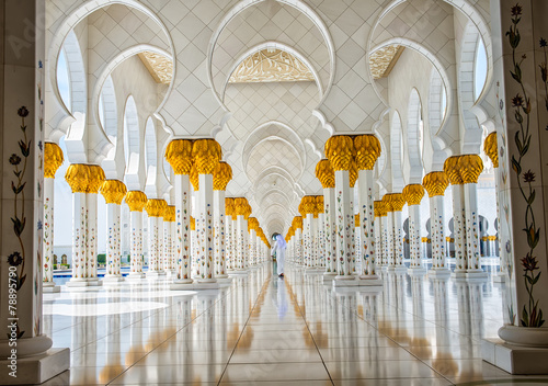 The famous Sheikh Zayed mosque - 78895790