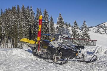 Mobiles Bergwachtfahrzeug