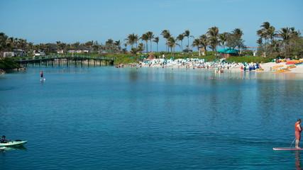 Time Lapse of Tropical Bahamas Beach