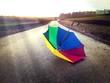 canvas print picture - Happy rainy day