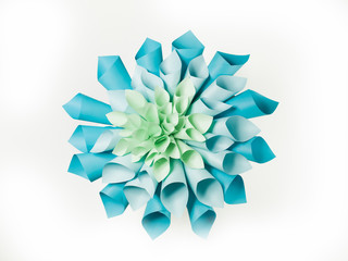 origami flower shape