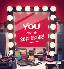 You are a superstar! Vector illustration