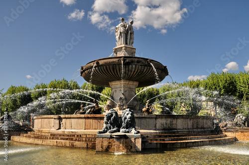 Aix en Provence, fontana - 78903184