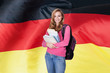 German Female Student