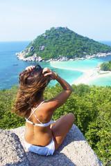 panorama su isola