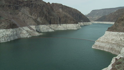 Time Lapse of Hoover Dam Reservoir