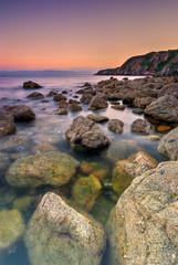 Rocky Coastline in Ireland