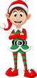 Christmas elf posing - 78908500