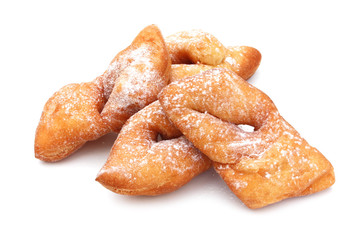 Bugnes - French donuts