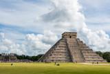 Chichen Itza Main Building. Mayan Historic Building. Traveling C