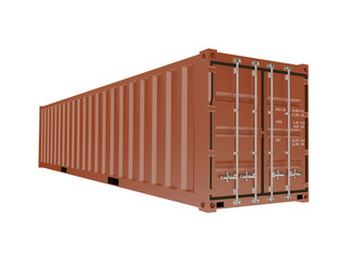 Container for transport of cargo and freight
