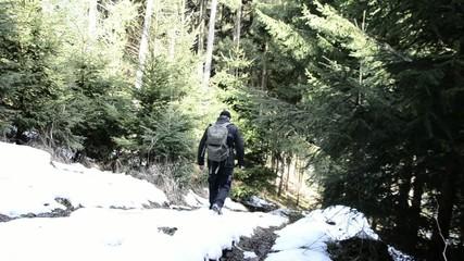 Outdoor im Schnee