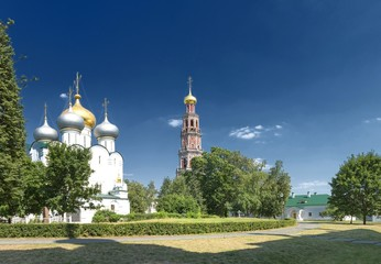 scenic view of the Novodevichy Convent