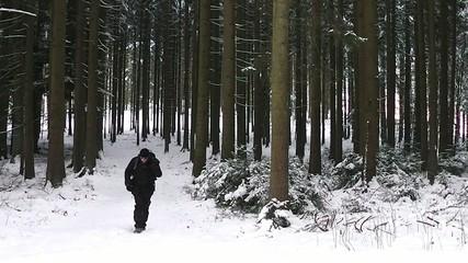 Fotograf im Winter