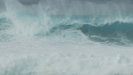 Raging Sea - Big Waves in Slow Motion