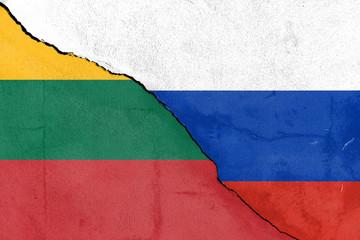 Bruch zwischen den Litauen und Russland