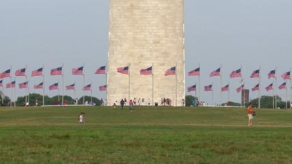 Time Lapse of the Washington DC Monument