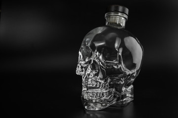crystal head bottle