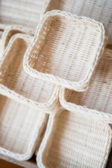 handmade baskets made from natural products