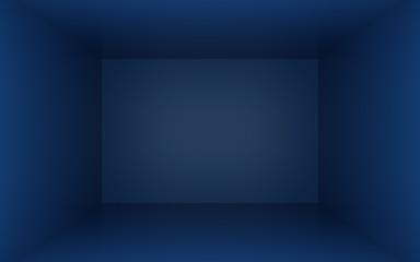 Blue box with dark edges inside