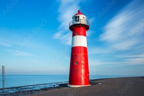 Leinwanddruck Bild Leuchtturm Westkapelle Holland