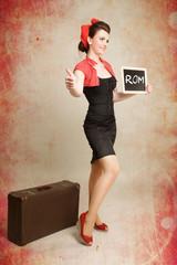 Pinup Girl will nach Rom