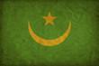 Mauritania grunge flag